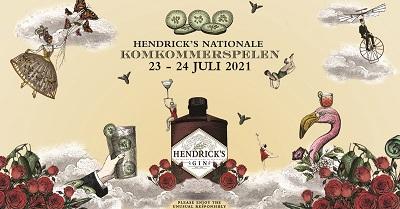 Hendrick's Gin Komkommerspelen 23 24 juli 2021 Amsterdam