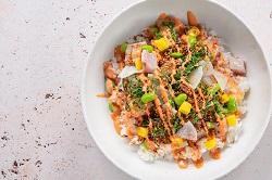 Poke perfect sjefietshe ceviche bowl Amsterdam 2