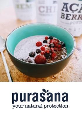 Recept açai smoothiebowl superfoods kopen purasana c