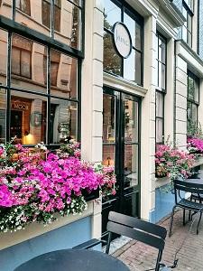 Restaurant Jansz Reestraat Amsterdam Centrum buiten