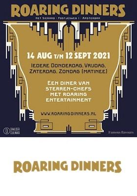 Roaring Dinners Het Sieraad Amsterdam West Postjesweg Sterrendiner c nieuw