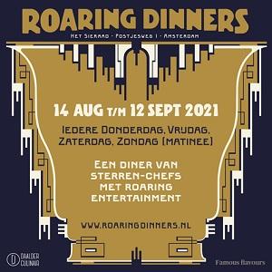 Roaring Dinners Het Sieraad Amsterdam West Postjesweg Sterrendiner nieuw