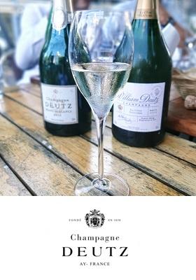 Champagne Deutz wijnbar boelen Amsterdam de Pijp c