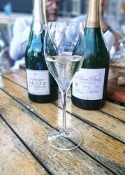 Champagne Deutz wijnbar boelen Amsterdam de Pijp