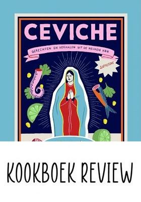 Recept ceviche heek-courgette Kookboek Sjefietshe winactie c