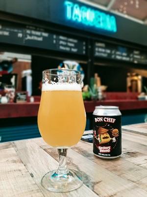 Taqueria Lima Foodhallen Amsterdam West bier