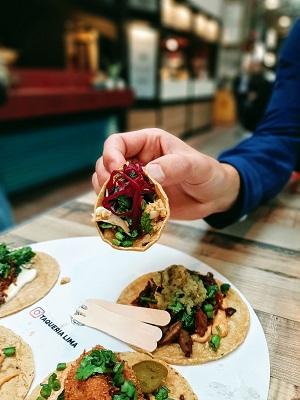 Taqueria Lima Foodhallen Amsterdam West taco