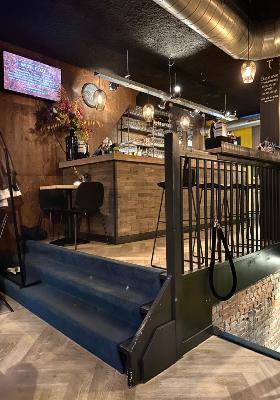 De bar van TapasTheater in Amsterdam Oost.