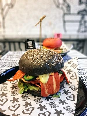 Vegan Junk Food Bar Amsterdam Royal Smash Burger